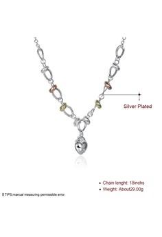 Tiaria Tiaria Necklace LKNSPCN212 Aksesoris Kalung Lapis Silver. Rp 152.000. Ukuran One Size