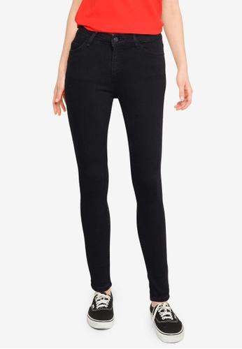 Aeropostale black High Waist Skinny Jeans 2805BAA2A5A8A1GS_1