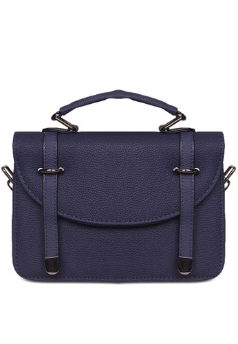 Quincy Label navy Tas Sling Bag   Korean Fashion Aulia Hand Bag   Tas  Fashion Wanita e96fbecd74
