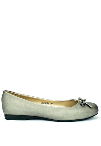 Cardam's Lifestyle grey Ballet Flats CA993SH0KNCFPH_1