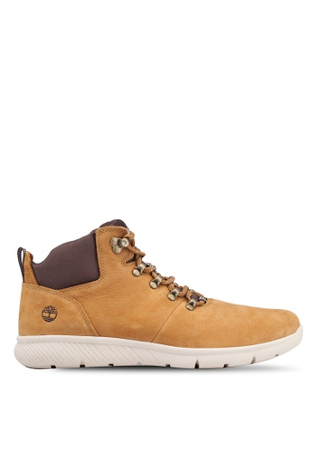 Timberland beige Boltero Leather Hiker Boots 87E11SH1DF1462GS_1