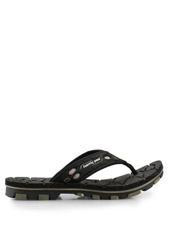 Homyped black Strong 02 Men Sandals HO842SH69SOWID_1