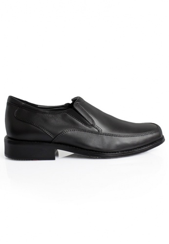 Gino Mariani black Gino Mariani Men's Leather Shoes DASH 3  - BLACK BCF67SHAC8B4D1GS_1