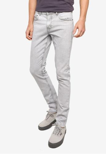 Cotton On grey Slim Fit Jeans 5B4F4AA48732F8GS_1