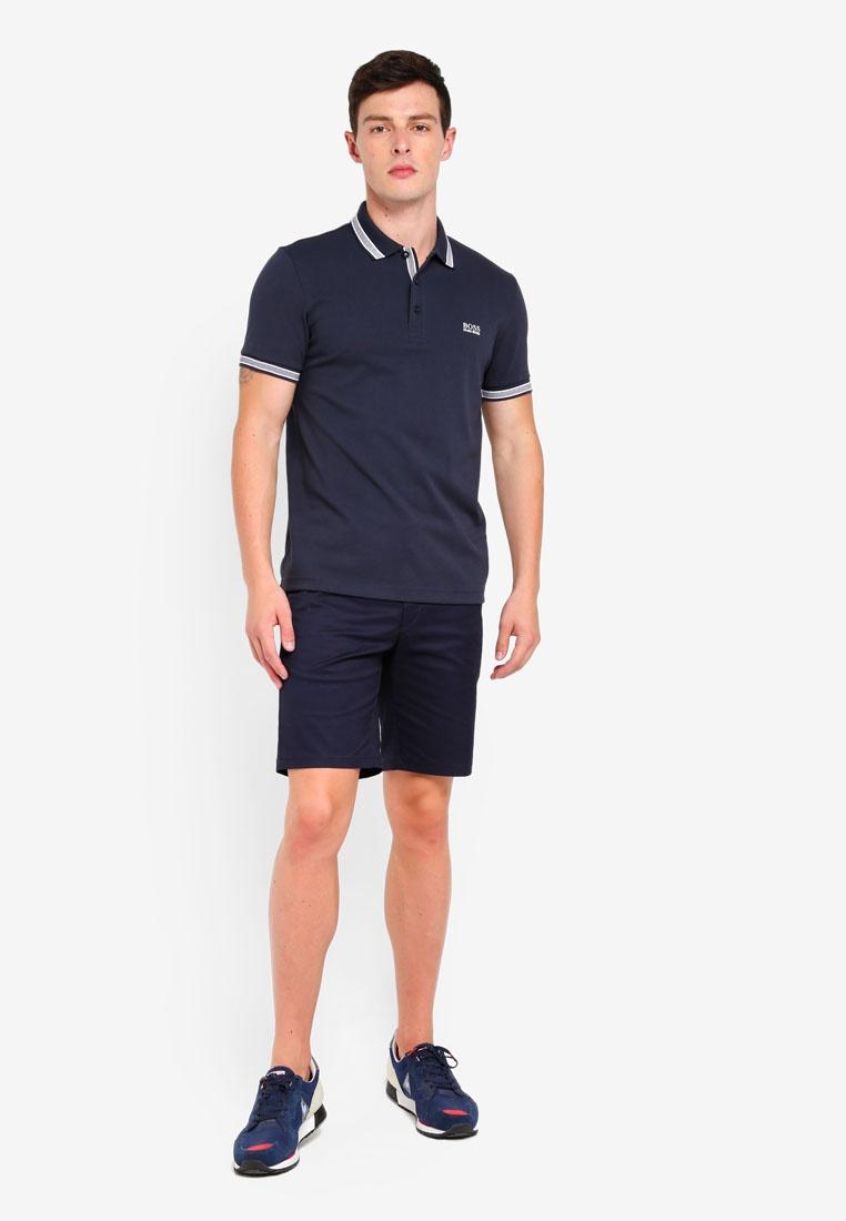 BOSS Shirt Polo Paddy Athleisure Boss Navy cR8HqIwIZT