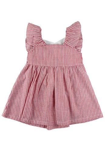 KIDS ICON pink KIDS ICON - Dress Anak Perempuan CURLY with Cut and Sewn - LYD00300200 4498BKA8EE0AA7GS_1