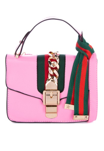 Jewelciti Luxe Leather Shoulder Bag