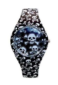 Unisex Jack Black Silicon Strap Watch