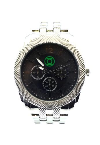 JUSTICE LEAGUE multi JL-004 Gfreen Lantern Watch 1E9BCAC1821BCDGS_1