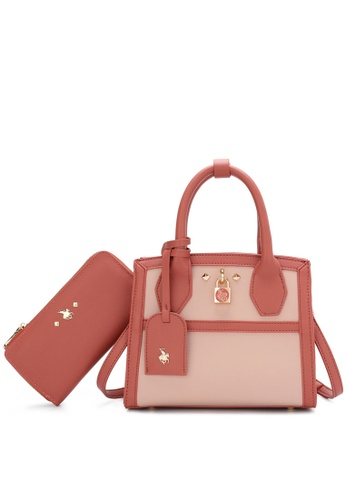 Swiss Polo red 2 In 1 Ladies Bag Set AB4A0ACA7F8BF9GS_1