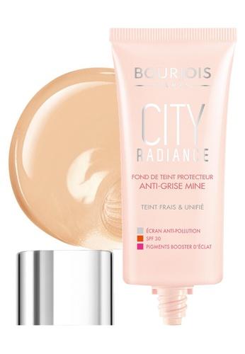 Bourjois City Radiance Foundation #02 Vanilla BO885BE42NCRSG_1