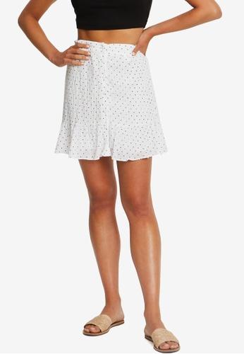 The Fated white Fae Mini Skirt EB56DAA086515EGS_1