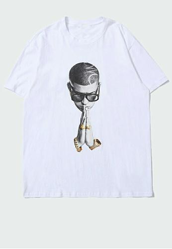 Twenty Eight Shoes Trend Printed Short Sleeve T-shirt PL19012 37C95AACF2FFBEGS_1
