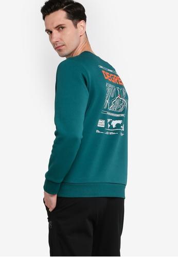 361° green Sports Life Turtleneck Sweater F91BBAA8BB45F2GS_1