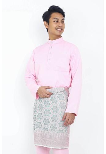 STARVILION pink Dominique Baju Melayu 7C545AA02EE447GS_1