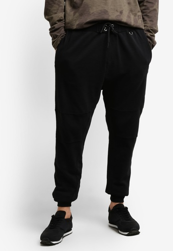 Cotton On 黑色 Customised Slouch Trackie Pants CO372AA0RCQ4MY_1