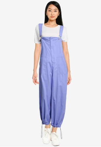 niko and ... purple Basic Overalls A4277AA6F545F8GS_1
