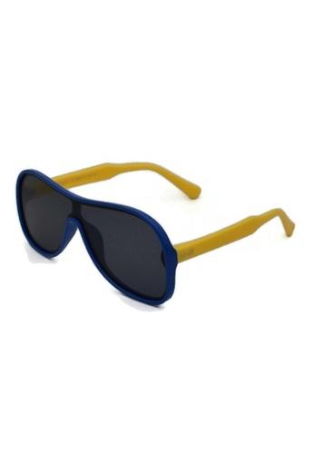 jojo blue Oversized Shield Aviator Polarized Sunglasses 10708KCCCABC97GS_1