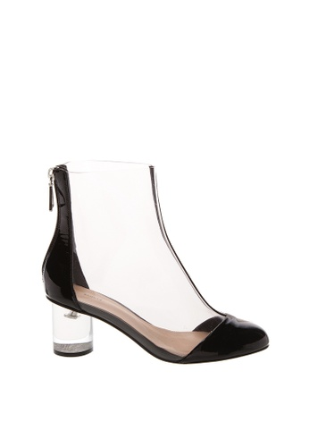 SCHUTZ 黑色 SCHUTZ 透明高跟裸靴 - CLAIR (透明/黑色) D338ESH16A57D3GS_1