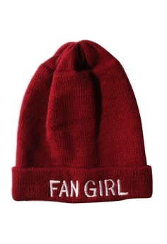Fan Girl Statement Beanie