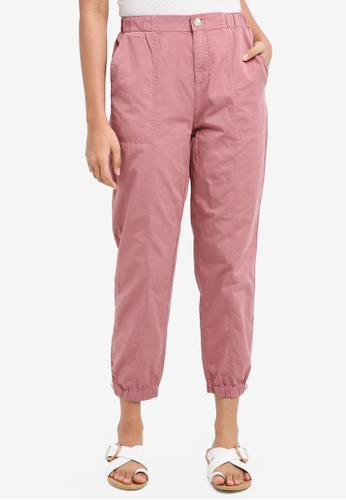 ESPRIT pink Denim Length Service Pants 8442BAA4BD1C80GS_1