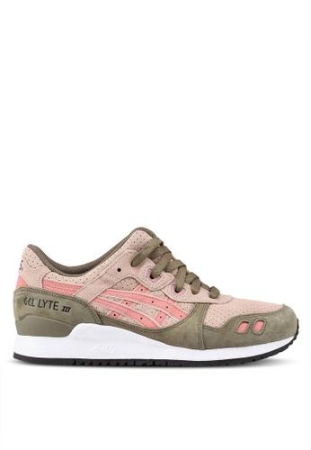 ASICSTIGER pink Gel-Lyte III Shoes AS610SH0SVUKMY_1