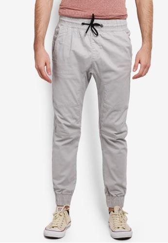 Factorie grey The Jett Pants FA880AA0SKMCMY_1