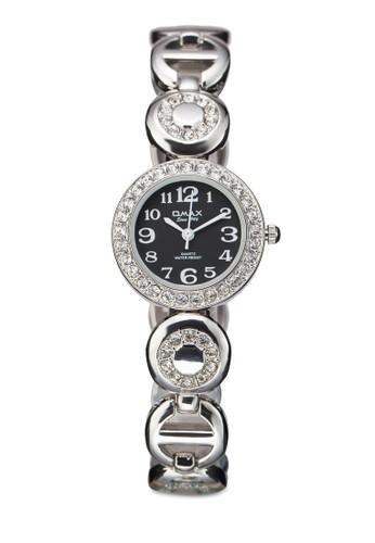 Omax JES672S 閃鑽鍊錶, 錶類esprit童裝門市, 時尚型
