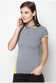 Turbo Girl Power Polo Tee