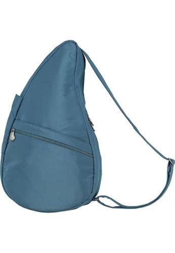 Healthy Back Bag blue Healthy Back Bag Unisex Microfibre M Nile Blue - M 2B971AC0C699F9GS_1