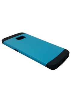 Sleek Shockproof Case for Samsung Galaxy S6 Edge (Blue)