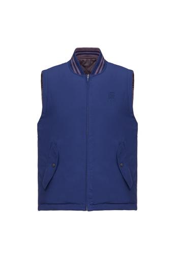Kent and Curwen purple Deep Purple Vest 5E7E6AA0CB1B5AGS_1
