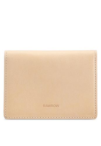 Rawrow beige Fold 143 Wallet 15AD2AC94FE3B6GS_1