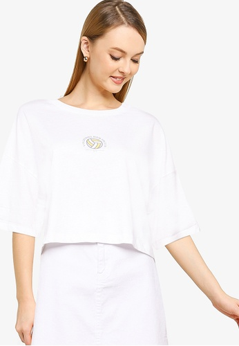Cotton On white Chopped Boyfriend Tee ED468AA50F0F2DGS_1
