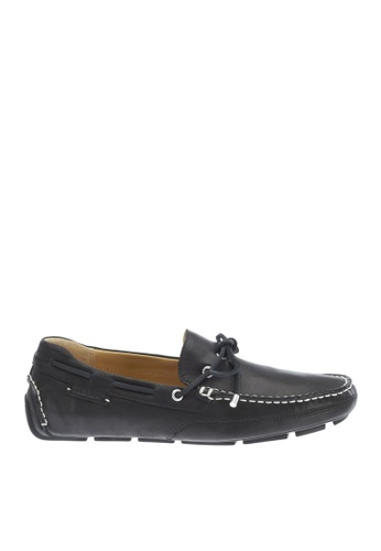 Sebago black Kedge Tie Driving Shoes SE328SH16OWDPH_1