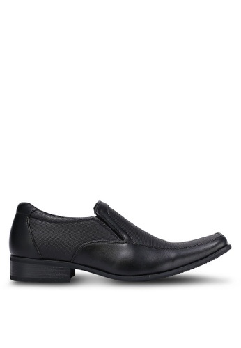 Louis Cuppers black Formal Business Shoes LO977SH0RJGFMY_1