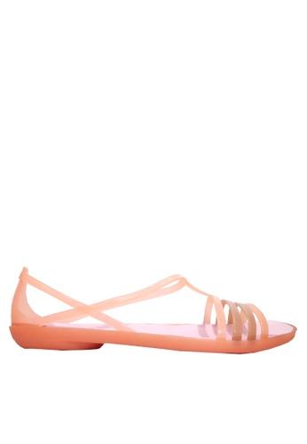 Twenty Eight Shoes 橘色 搭帶果凍雨鞋及沙灘涼鞋 VR1808 EFFDCSH24FD74EGS_1