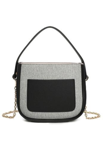Milliot & Co. grey Simona Top Handles Bags 0D840AC5586433GS_1