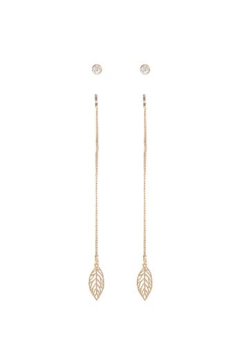 ALDO gold Glalirith Pierced Earring D8911AC2B6F639GS_1