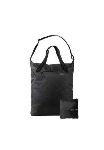 MATADOR black Matador On-Grid™ Packable Tote Bag Tas Lipat Wanita Travel 16L Black E7BCEAC4396F79GS_1