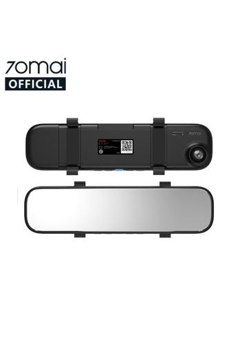 Xiaomi black Xiaomi 70mai Rearview Mirror Car Dash Cam/ 24H Parking Monitor 1E1D1ESBCB0F7AGS_1