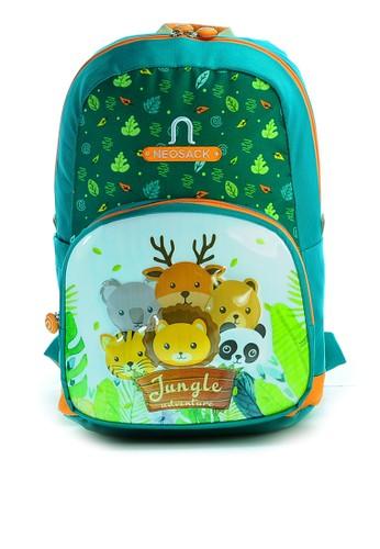 NEOSACK green Neosack Tas Ransel Anak - Backpack Anak JUNGLE-ADVENTURE C055DKCACAF314GS_1