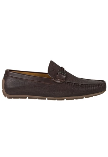 Tomaz brown Tomaz C335 Braided Buckled Loafers (Coffee) D27CESH62C4DFDGS_1