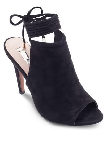 Odessa 魚口繫帶高跟涼鞋, esprit香港門市女鞋, 鞋