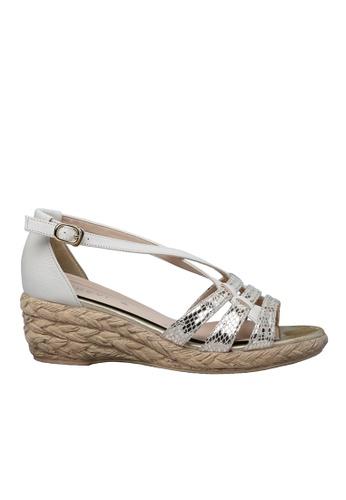 messe Goat Skin Comfort Wedge Sandal ME313SH28ZOPHK_1