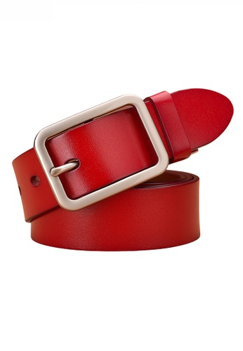 Twenty Eight Shoes red Vintage Style Pin Buckle Leather Belt JW CY-061 CB852AC5D9B5A9GS_1