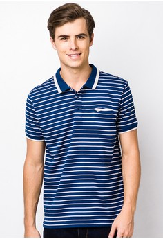 Cvc Stripes Single Jersey Polo