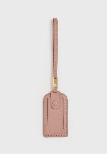 Tocco Toscano pink Aimee Luggage Tag (Dusty pink) 1EDBFAC7507512GS_1