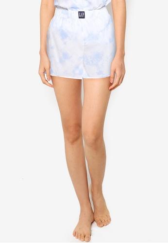 GAP blue Poplin Shorts 3712EAA01482FEGS_1