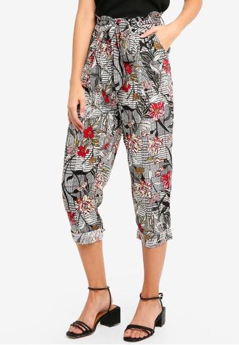 Glamorous multi Multi Floral Check Pants E18D0AA3CDB482GS_1